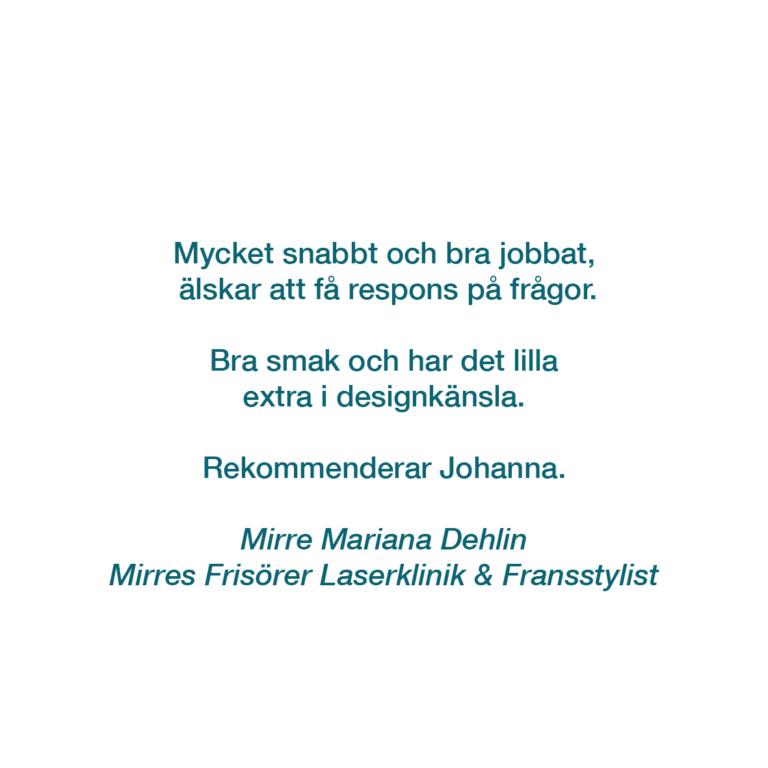 MIRRES FRISÖRER